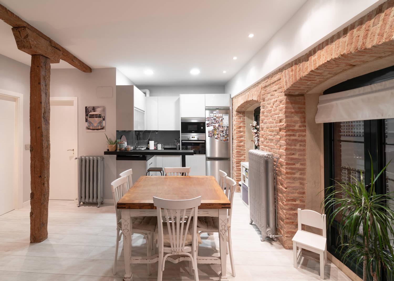 Apartamentos Tres Hermanos cocina
