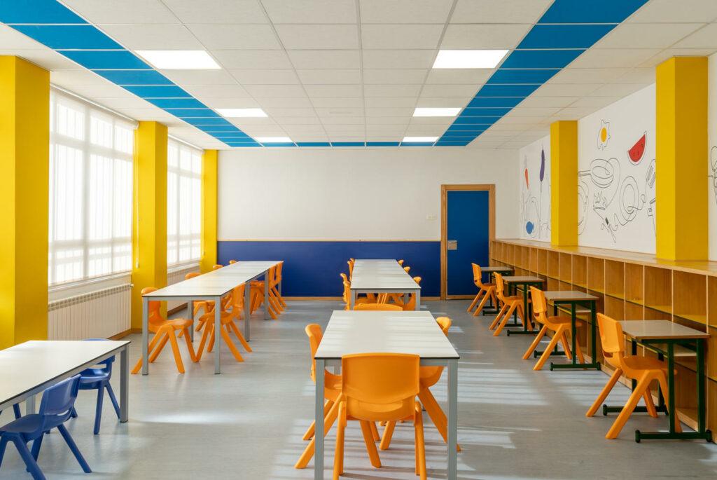 Colegio San Francisco de Asís aula