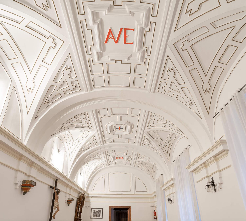 Iglesia de San Nicolás de Bari y escalera de los Trinitarios Valladolid interior