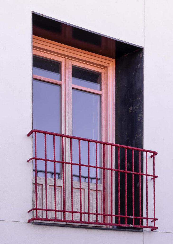 Casa Parroquial Simancas ventana