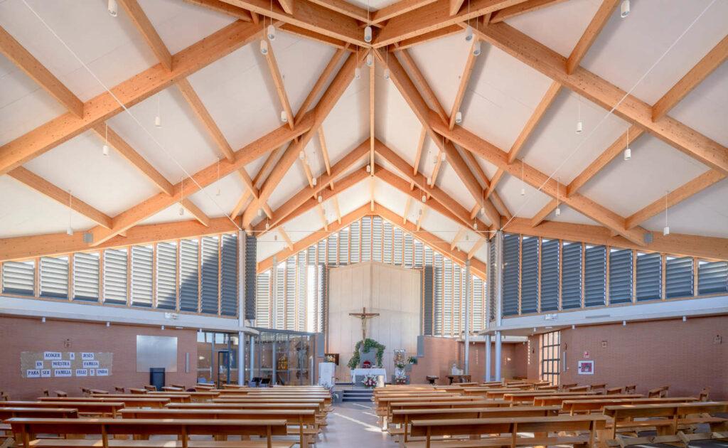 Iglesia de Santa María de la Vega interior 2